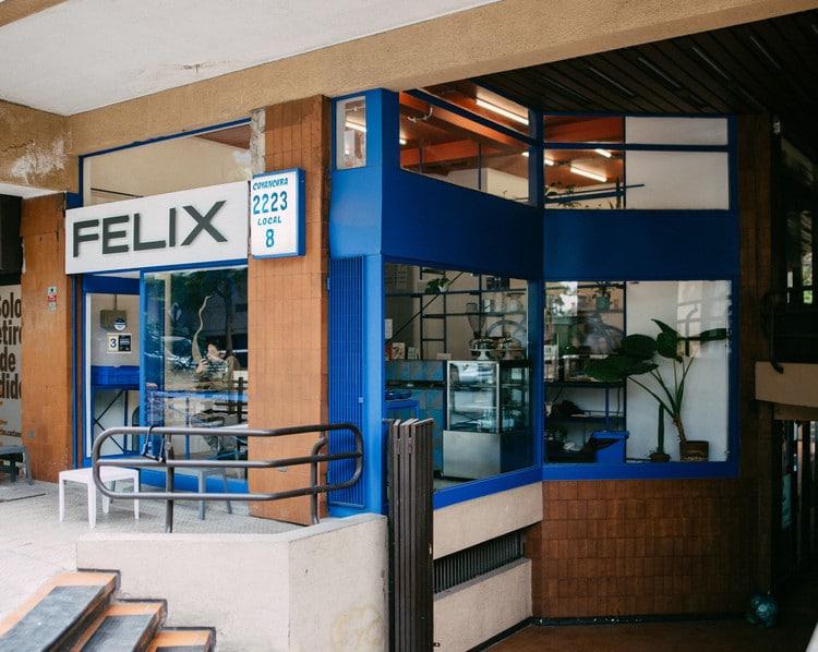 Félix, más que un café al paso en Providencia